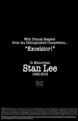 Tributo de DC comics a Stan Lee